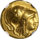 MACEDON. Kingdom of Macedon. Alexander III (the Great), 336-323 B.C. AV Stater (8.58 gms), Amphipoli