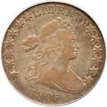 1805 Draped Bust Half Dollar. PCGS VF20
