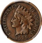 1909-S Indian Cent. VF-30 (PCGS).