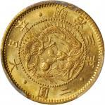 明治三年(1870)二圆金币。