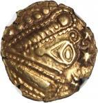 GAUL. Treveri. AV Stater (6.51 gms), ca. 2nd-1st Century B.C. NGC Ch EF*, Strike: 5/5 Surface: 5/5.