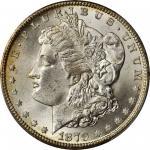 1879-CC Morgan Silver Dollar. Clear CC. MS-64+ (PCGS). CAC.