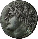 SICILY. Syracuse. Hieron II, 275-215 B.C. AE Tetralitron (33.93 gms). CHOICE VERY FINE.
