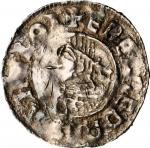 SWEDEN. Viking Coinage. AR Denar, ND. Sigtuna Mint. Olaf Skotkonung (994-1022). CHOICE VERY FINE.