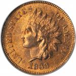 1868 Indian Cent. MS-65 RB (PCGS).