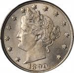 1890 Liberty Head Nickel. MS-66+ (PCGS). CAC.