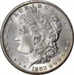 1883-CC Morgan Silver Dollar. MS-67 (NGC). CAC.