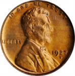 1927-D Lincoln Cent. MS-65 RD (PCGS). OGH.
