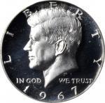 1967 Kennedy Half Dollar. SMS. Specimen-68 Deep Cameo (PCGS).