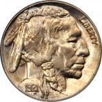 1921-S Buffalo Nickel. MS-65 (PCGS). OGH.