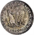 AUSTRALIA. 3 Pence Token, 1858. Victoria. ANACS AU-50.