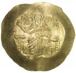 BYZANTINE EMPIRE: John II Comnenus, 1118-1143, AV hyperperon (4.26g), S-1940, Christ enthroned, hold