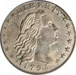 1795 Flowing Hair Half Dime. LM-10. Rarity-3. AU-55 (PCGS).