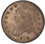 1825/4/2 Capped Bust Quarter. Browning-2. Rarity-2. Mint State-65 (PCGS).PCGS Population: 3, 4 finer