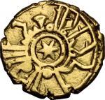 Monete e Medaglie di Zecche Italiane, Palermo o Messina.  Ruggero II (1105-1154). Tarì con stella a