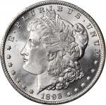 1893 Morgan Silver Dollar. MS-64 (PCGS).