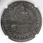 HOUSE OF HABSBURG Ferdinand II フェルディナンド2世(1619~37) Taler 1624  NGC-AU55 EF