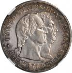 1900 Lafayette Silver Dollar. EF Details--Cleaned (NGC).