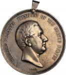 1850 Millard Fillmore Indian Peace Medal. Large Size. Silver. 75.9 mm. 182.08 grams. Julian IP-30, P
