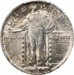 1919-D Standing Liberty Quarter. MS-65 (PCGS).
