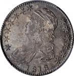1818 Capped Bust Half Dollar. O-109. Rarity-1. MS-63 (PCGS). CAC.
