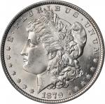 1879 Morgan Silver Dollar. MS-64 (PCGS).