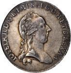 ITALY. Milan. Scudo, 1783-LB. Joseph II (1780-90). NGC AU-58.