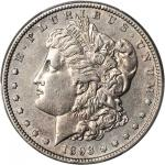1893-S Morgan Silver Dollar. AU Details--Filed Rims (PCGS).