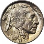 1918-D Buffalo Nickel. MS-65 (PCGS). OGH.