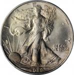 1919 Walking Liberty Half Dollar. MS-64+ (PCGS). CAC.
