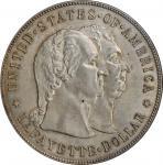 1900 Lafayette Silver Dollar. AU-58 (PCGS). CAC.