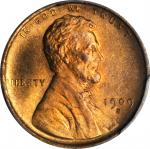 1909-S Lincoln Cent. MS-66+ RD (PCGS). CAC.