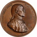 1779 (1845-1860) Captain John Paul Jones / Bonhomme Richard vs. Serapis Medal. Paris Mint Restrike f