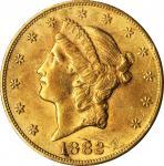 1882-CC Liberty Head Double Eagle. AU-58 (NGC).