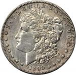 1893-S Morgan Silver Dollar. EF Details--Cleaning (PCGS).