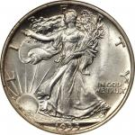 1933-S Walking Liberty Half Dollar. MS-65 (NGC).