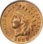 1888 Indian Cent. MS-65 RD (PCGS). OGH.