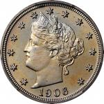 1906 Liberty Head Nickel. Proof-67+ Cameo (PCGS). CAC.