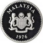 1976年珍稀野生动物保护系列精製套币,4枚一组。