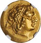 PONTUS. Kingdom of Pontus. Mithradates VI, 120-63 B.C. AV Stater (8.19 gms), Istrus Mint, ca. 88-86