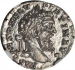 PERTINAX, A.D. 193. AR Denarius (3.26 gms), Rome Mint, A.D. 193. NGC Ch MS, Strike: 5/5 Surface: 5/5