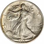 1917 Walking Liberty Half Dollar. AU-55 (PCGS).