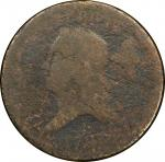 1793 Liberty Cap Half Cent. Head Left. C-2. Rarity-3. Poor/Fair Details--Environmental Damage (PCGS)
