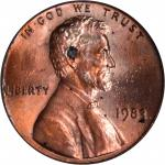 1983 Lincoln Cent. FS-801. Doubled Die Reverse. MS-66 RD (PCGS).
