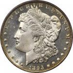 1893-O Morgan Silver Dollar. MS-65 DMPL (PCGS). CAC.