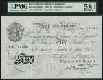 Bank of England, Kenneth Oswald Peppiatt (1934-1949), 」5, London 12 April 1947, serial number L89 05