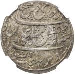 BENGAL PRESIDENCY: AR ½ rupee, Murshidabad, year 19, KM-97.1, Stevens-4.20, East India Company issue
