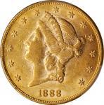 1888 Liberty Head Double Eagle. AU-55 (PCGS). CAC.