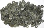 Lots bis 1949 Ca. 1000 Cashmünzen der Qing-Dynastie.