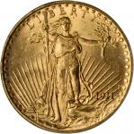 1911-S Saint-Gaudens Double Eagle. MS-65 (PCGS).